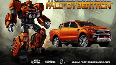 Ford Ranger Transforms Into New Autobot