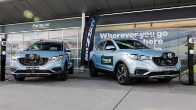 Europcar adds fully-electric MG ZS EV to rental fleet
