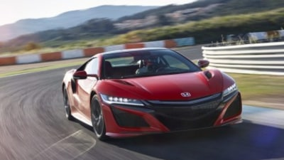 Honda NSX first drive review