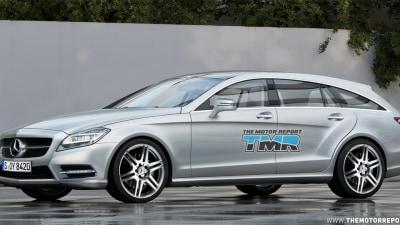 Mercedes-Benz CLS Shooting Brake Rendered