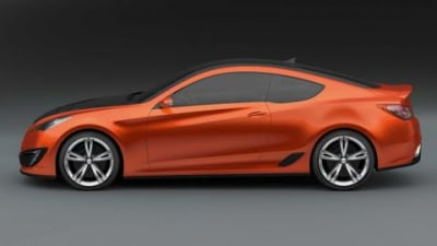 Hyundai Concept Genesis coupe official unveiling Video