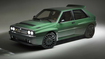 Singer-style Lancia Delta goes on sale