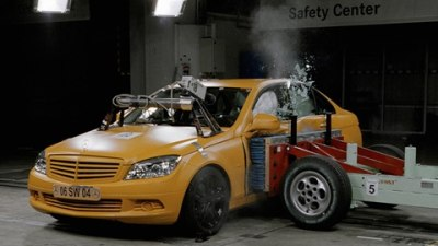 2008 Mercedes-Benz C-Class Achieves Top Score In US Safety Test