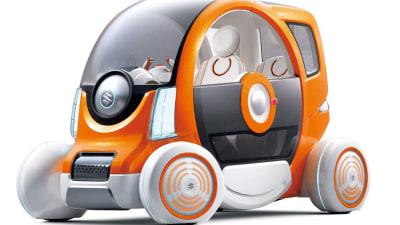 Suzuki Q EV Concept Previewed