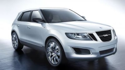 Saab 9-4x BioPower concept preview
