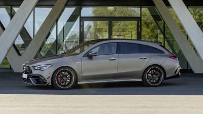 2020 Mercedes-AMG CLA45 Shooting Brake revealed, not for Oz