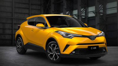 Toyota Confirms Turbo Engine For C-HR Small SUV
