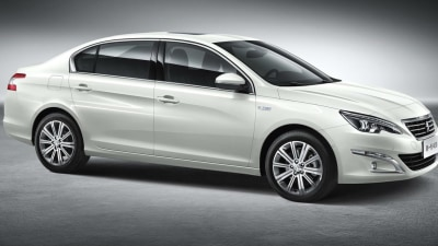 2014 Peugeot 408 Revealed In New Pictures Ahead Of Beijing Auto Show