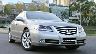 2009 Honda Legend Pricing and Specifications
