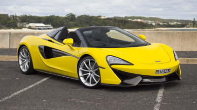 2018 McLaren 570S Spider new car review