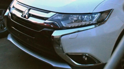 Mitsubishi Outlander: 2015 Styling Update Revealed Ahead Of April Launch