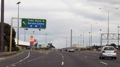 Concrete Barriers To Appear On Westgate Freeway