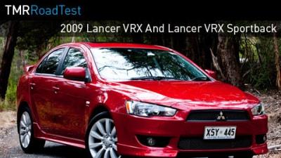 2009 Lancer VRX And Lancer VRX Sportback Road Test Review