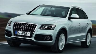 Audi Q5 Hybrid Revealed, A8 Four-Cylinder Hybrid In Development