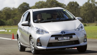 2012 Prius c and Prius c i-Tech First Drive Review