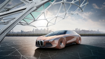 BMW's Next 100 concept car points to a radical future