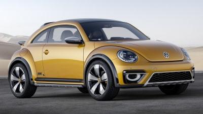 VW Beetle Dune Concept Revealed