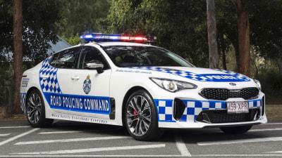 QLD Police choose Kia Stinger
