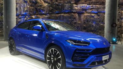 2018 Lamborghini Urus detailed
