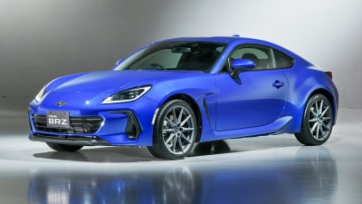 2022 Subaru BRZ: Right-hand-drive model unveiled with STI accessory range