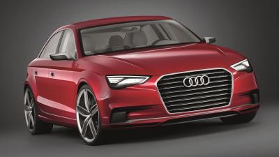 Audi A3 Sedan Concept: Geneva Motor Show