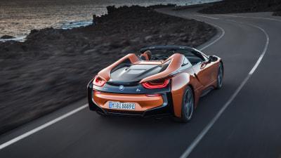 BMW i8 Roadster revealed