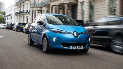 2018 Renault Zoe new car review