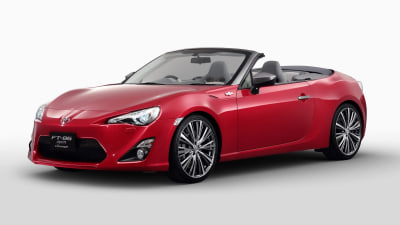 Toyota To Wheel Out Updated FT-86 Open Concept At Tokyo Motor Show