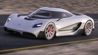 Viritech Apricale: British start-up previews world's first hydrogen hypercar
