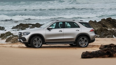 The Mercedes you'll never get bogged at the beach.