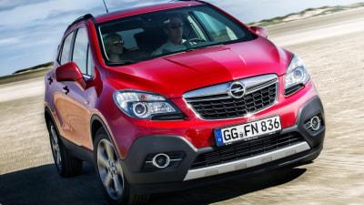 Opel Mokka On Sale In Australia From Third Quarter 2013