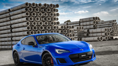 New Subaru BRZ tS revealed