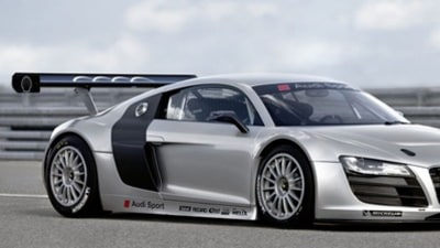 Audi Announces GT3-spec R8