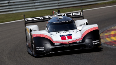 Porsche let's its 919 Le Mans racer off the leash