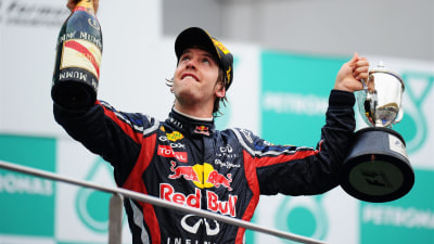 F1: Vettel Extends Lead With Sepang Win
