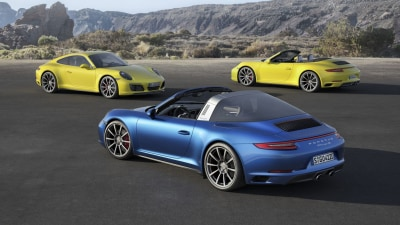 2016 Porsche 911 Carrera 4 and Targa 4 - Price And Features For Australia