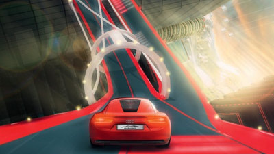 Audi E-Tron Electric Vehicle To Appear In PlayStation 3 Vertical Run Driving Game