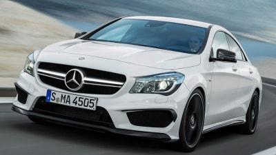 Mercedes-Benz CLA 45 AMG Tears Into New York Auto Show