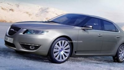 2010 Saab 9-5 Official Images Leaked