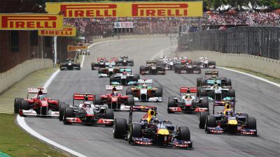 F1: Title Battle Still On For Brazil Finale