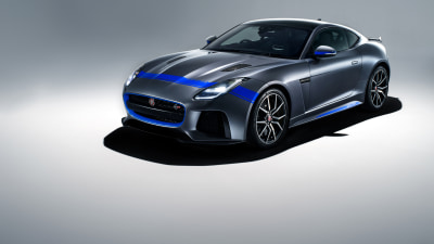Jaguar adds Graphics Pack to F-Type SVR