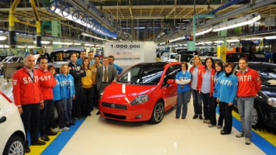 Fiat Grand Punto Production Reaches One Million