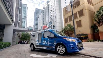 Ford testing autonomous food truck