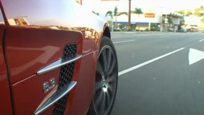 "Jay Leno Recreates ""C'etait Un Rendezvous""In LA With Mercedes SLS AMG"
