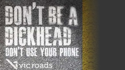 Don't Be A Dickhead: New VicRoads Online Campaign Targets Young Drivers