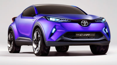 Toyota Compact SUV To Launch At Geneva With C-HR Concept Styling