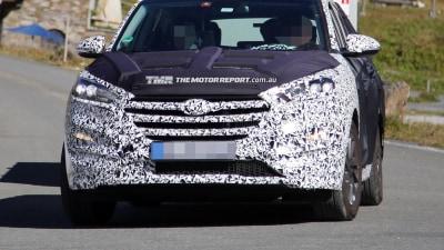 2015 Hyundai ix35 Spied Testing