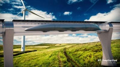 Elon Musk's Futuristic Hyperloop Will Be Tested In California