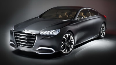 2014 Hyundai Genesis Previewed In HCD-14 Concept At Detroit