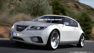 2013 Saab 9-1 Rendered